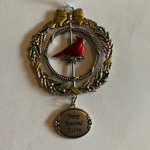 Very Special Nurse Christmas Ornament